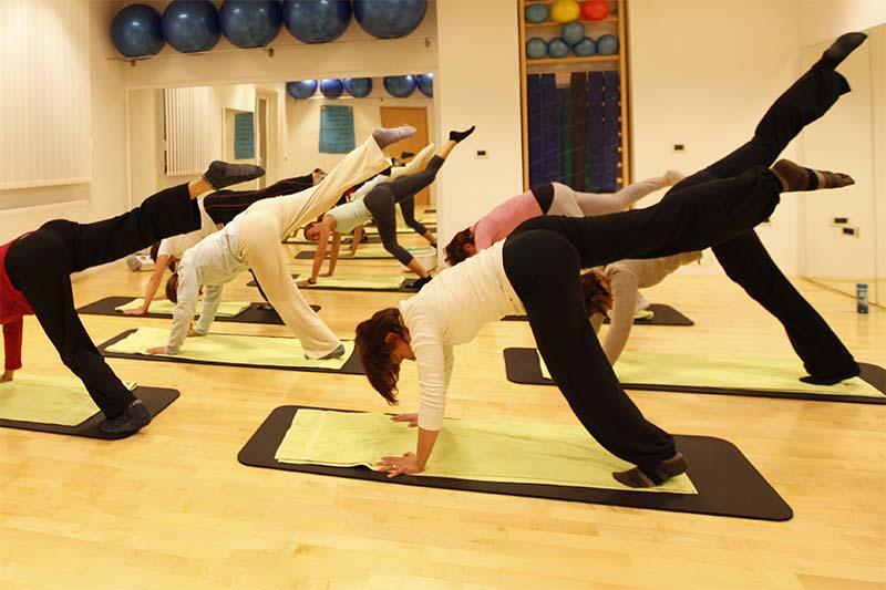 Pilates skupinska vadba